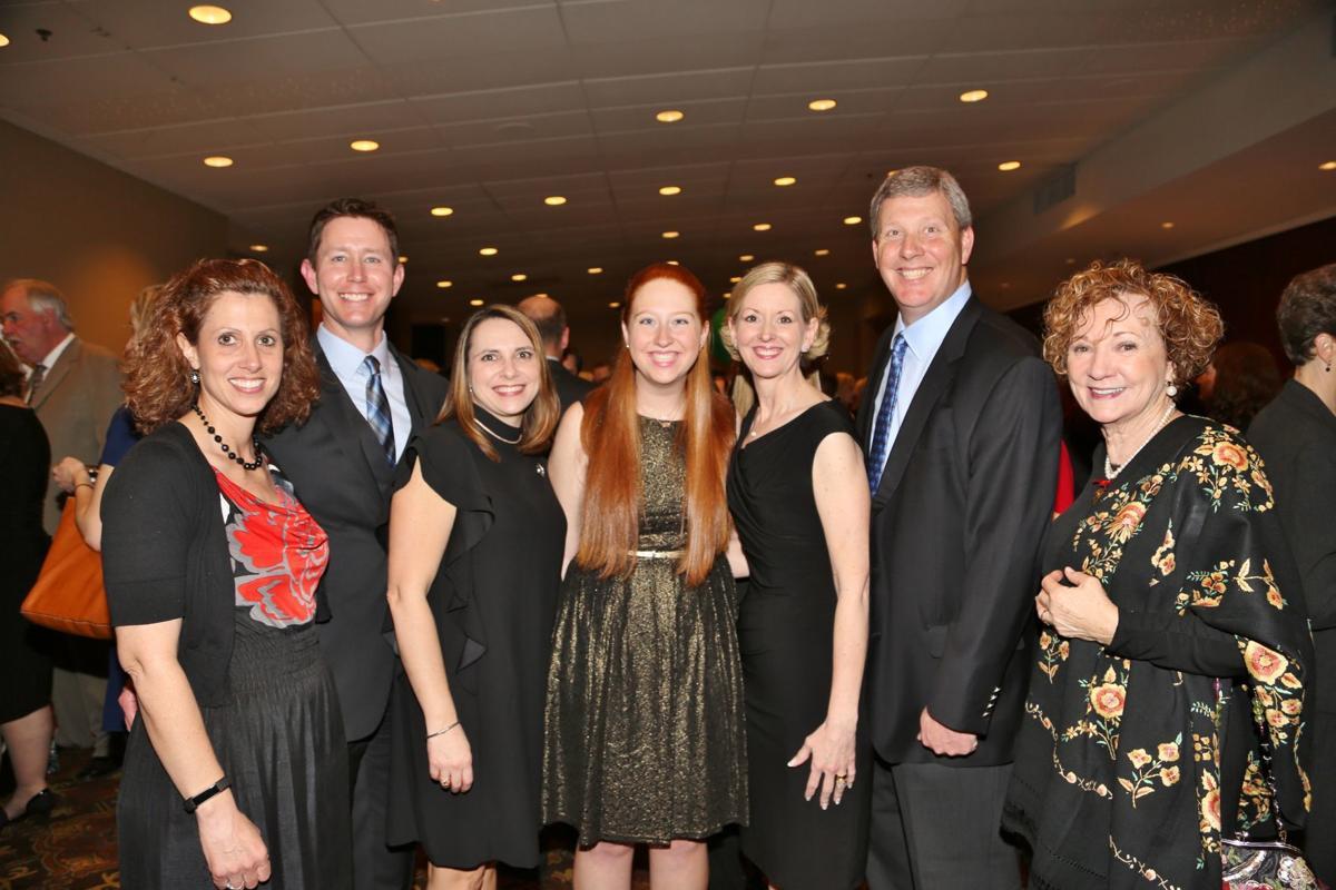 Debbie Fox, Roger Collins, Jayme Collins, Allison, Cindy, Nick and Flora Licavoli