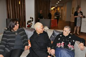 Dr. Gloria Martin, Susan and Joan Fisher