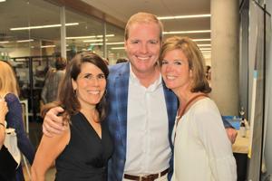 Lisa Goebel, Kathie and Dan Dolan