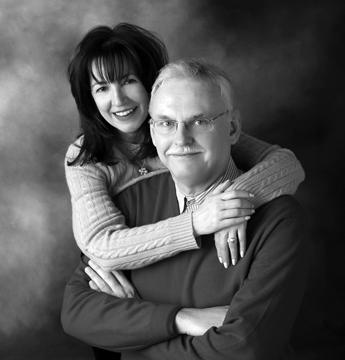 Deborah Johnson and Dr. Michael Province