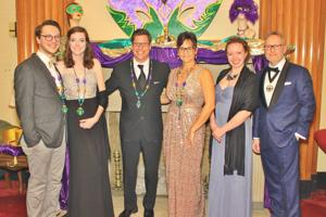 Rachel and Anthony Burchett, Tom and Jennifer Etling, Sarah Wion, Mack Bradley