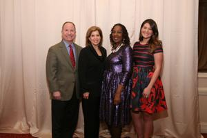 Tom and Honoree Janet Horlacher, Sylvia J. Jackson, Katie Marischen