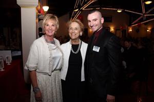 Cheri Fromm, Cathy Burgess, Artistic Director Brian Enos