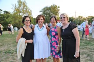 Jane Grady, Marilyn Disch, Nancy Lieberman, Kathy Bussmann