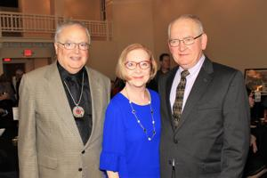 Esley Hamilton (Past award winner), Christy Beckmann, Jim Vykopal