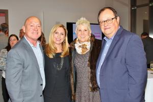 Tom Jones, Sherry Schnyder, Sally and Kevin Baltz