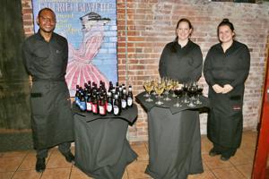 Wayne Hamlin, Amanda Evers, Saska Timarac (Moulin Employees)