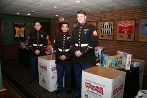 Marines – Corp Chapman, Sgt Jaimes, Sgt Biassett