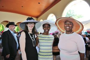 Deb Godwin, Folake and Nicole Adewale