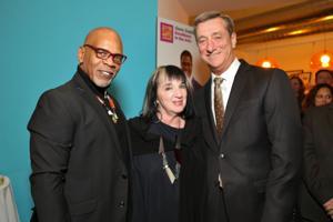 Keith Tyrone Williams, Sara Burke, Denny Reagan