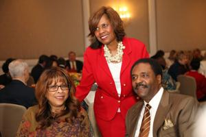 Honoree:  Thelma Steward, Cheryl Jones, Executive Director,  David Steward
