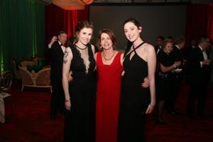 Katharine Eckert, Cathy Dufour, Haley Sanders