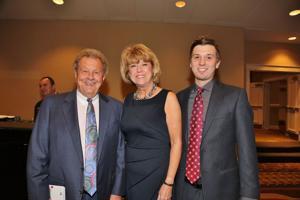 Roger, MaryLou and Jamieson Keech