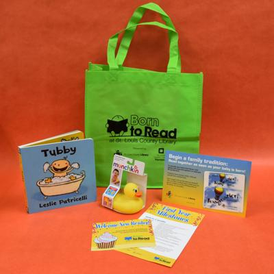 SLCL Born to Read Bag