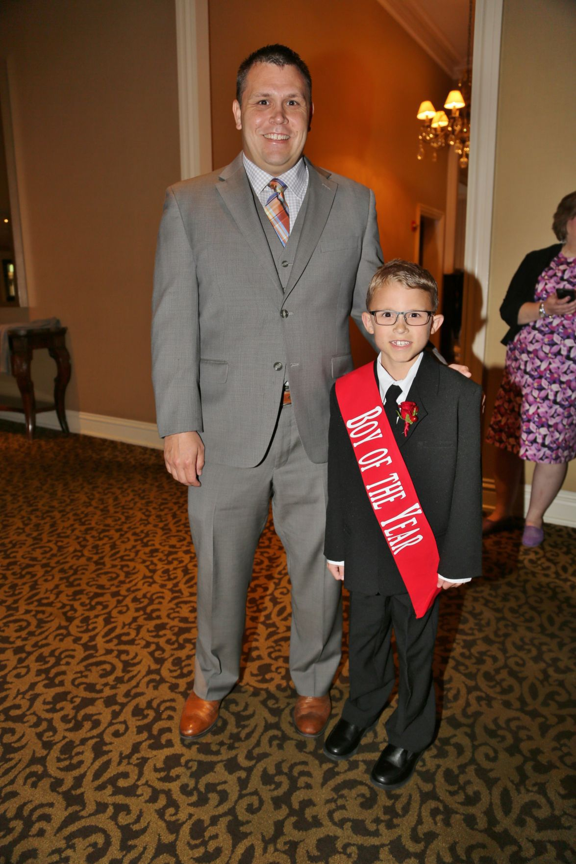 Brian and Bryce Schottel, Boy of the Year