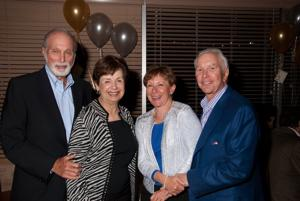 Barry and Sharon Fridman, Marti Reichman, Morrie Zimring