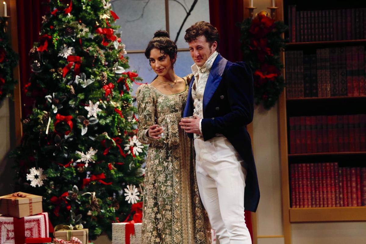 Christmas At Pemberley.The Rep S Miss Bennet Christmas At Pemberley Is Handsome