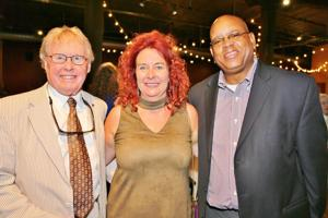 Bill Siedhoff, Kimberly and Kevin McKinney