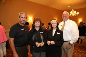 Allen McClellan, Donna Laudicina, Sister Mary Ann Eultgen, Mike Harrel