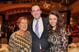 Barb Huhn, Tim and Alli Egart