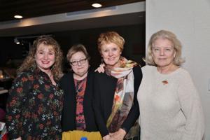 Paula Tagliaferro, Linda Cohn, Debbie Windus, Jane Boudreaux