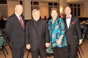 Darryl and Ellen Ross, Archbishop Robert J. Carlson, Zip Rzeppa