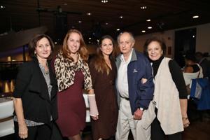 Carolyn Coffin, Joanna Fiehler, Jennifer, Richard and June Coffin