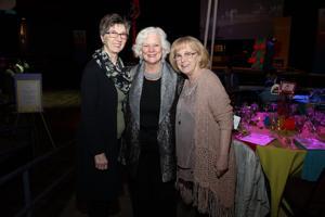 Jean Lovati, Judie Courtney, Kathy Halpin