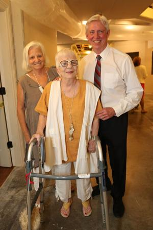 Karen Neilson, Virginia Larsen, Bob Leonard