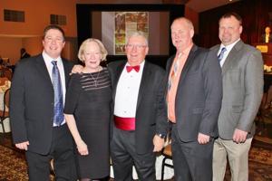 Sean Dees, Jan and Roger Debenport, Gary Unverfehrt, Rusty York