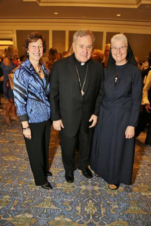 Diane Snively, Archbishop Robert Carlson, Sister Marie Paul Lockerd
