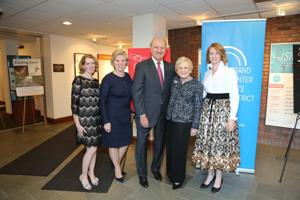 Michelle Stevens, Co-chairs:  Marsha and Bill Rusnack, honorary chair Joan Quicksilver, Karin Hagaman CEO and President Grand Center