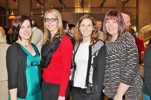 Leah Hofferkamp, Stephanie Hartman, Sarah Davis, Heather Lents