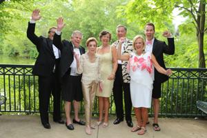Jeffrey Bonner, President and CEO St. Louis Zoo, Jerry and Peggy Ritter, honorary chairs, Co-chairs:  Linda and Steve Finerty, Wendy Henry, Bill Schmidt