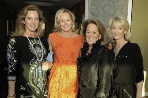 Lindsey Swift, Elizabeth Nix, Joan Schoebelen and Megan Rowe