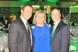 Tim and Judy Weber, Mike Stagoski (Pres. Fathers Club)