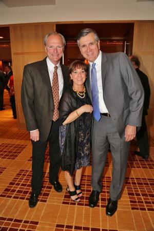 Steve and Lisa Marlo, Bill McClure