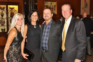 Tara Lowery, Eric Huber, Ilene and Phil Kaiser