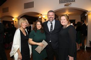 Judy Simms-Brown, Cassie and Chris Hansen, Patty Wente