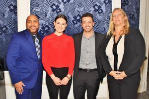 Freddy Martinez, Nicole Haguley, T.J. Zuzga, Laura Walter