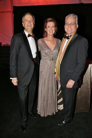 Jim and co-chair Meredith Holbrook, Brent Benjamin Director