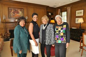 Peggy LeCompte, Gwendoyn Packnett, Phd., Ruth Lewis, Dr. Katie Wright, Ed.D.