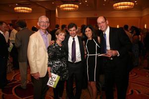 Ed and Dorette Goldberg, Ken and Jane Rubin, John Greenberg