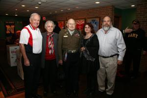 David Ganz, Bobbie and Veteran Eugene Ganz, Candy Ganz, John Ganz