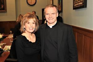 Susie Eckelkamp, Fr. Mike Boehm