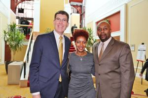 Dr. Kurt Nelson, Tamiko and William Armstead