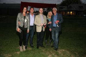 Adrian and Jamey Edgerton, Ryan Easley, Kathy and Guy Brandt