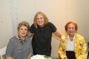 Janet Sanders, Susan Block, Rosalie Ewing