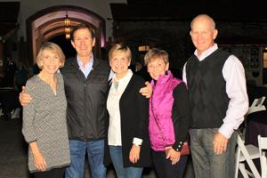 Nancy Smith, Jim and Pat Steiner, Kathy and Justin Durel