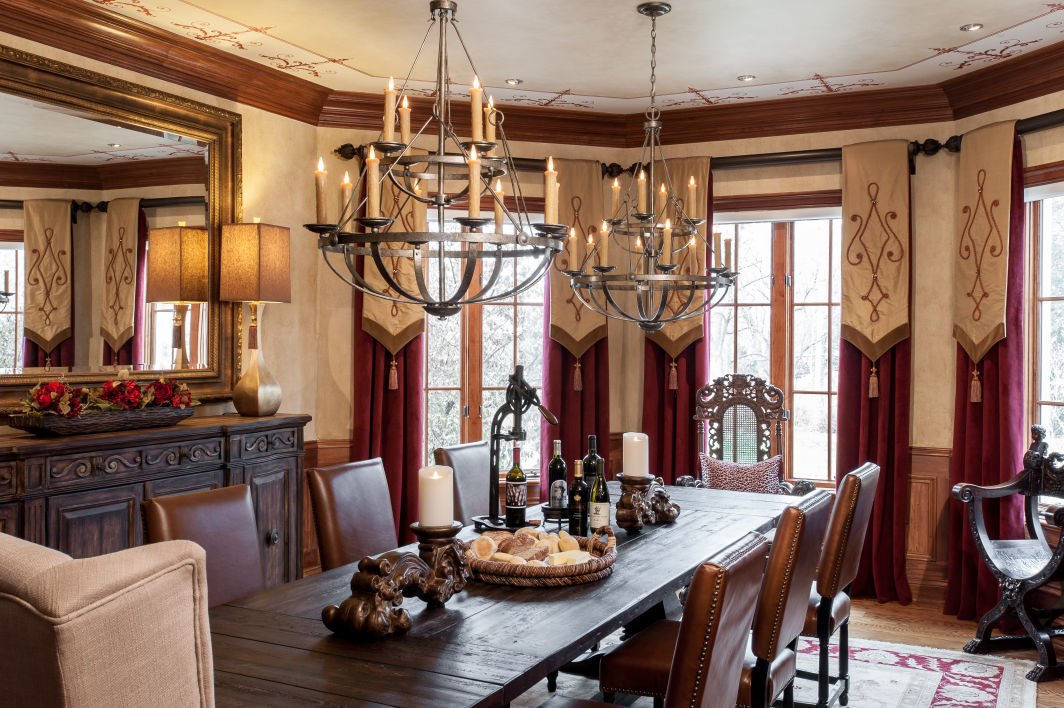 Design Elements Dining Room Turned Upscale Casual